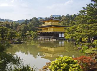 golden, temple japan
