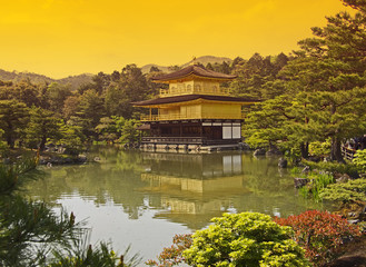 Golden Temple Kyoto Japan