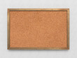 Blank old corkboard