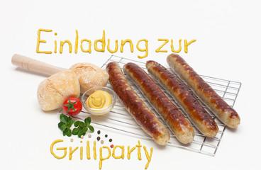 Einladung zur Grillparty