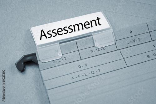 Ordner mit Assessment