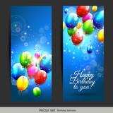 Fototapety Birthday banners
