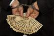 Manager mit japanischen Yen Geldscheinen