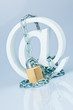 Datensicherheit im Internet. Klammeraffe