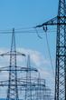Stromasten einer Hochspannungsleitung