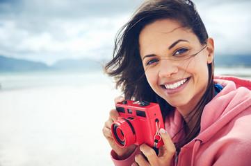 Beach camera fun