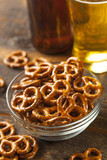 Organic Brown Mini Pretzels with Salt