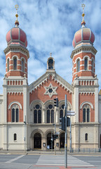 Great Synagogue in Plzen, Czech Republic