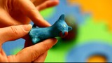 Woman's hands with plasticine episode 2