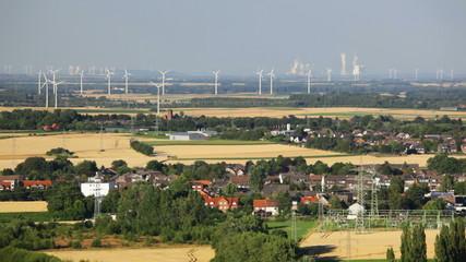West German Energy Landscape Timelapse