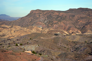 Mountains in Almeria, Spain