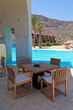 pool and outdoor furniture(Greece)