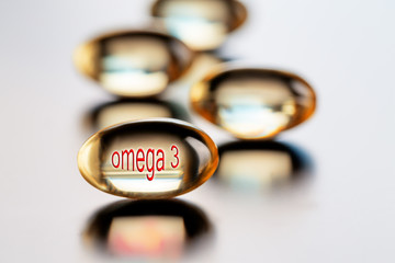Capsules with vitamin omega 3