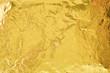 canvas print picture - Gold foil
