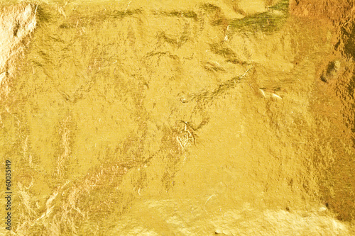 Canvas Metal Gold foil