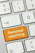 Personal coaching. keyboard