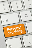 Personal coaching. keyboard