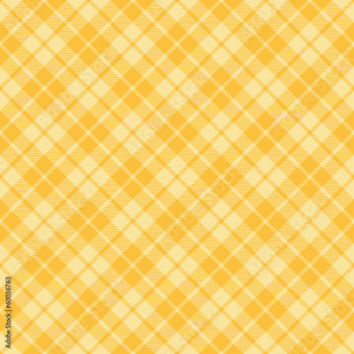 Yellow tartan pattern background