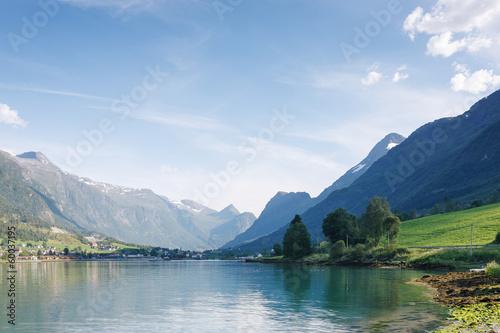 Nordfjord, Olden city, Norway - 60037195