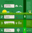 Modern green design template