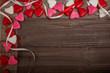Text freiraum Valentinstag Holz