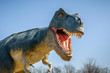 Leinwandbild Motiv Aggressive T-Rex