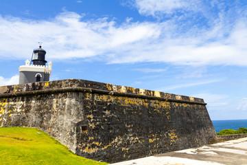 El Morro Castle in San Juan, Puerto Rico