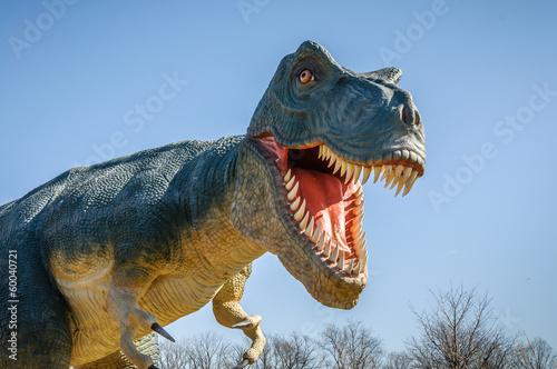 canvas print picture Aggressive T-Rex