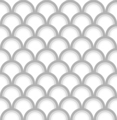 Seamless fish scale pattern