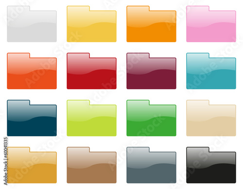 Folder icon collection