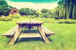 Retro Picnic Table