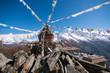 Leinwandbild Motiv Mong La Pass, Himalaya, Nepal
