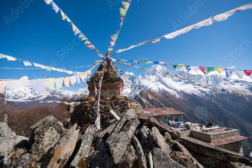 Fotobehang Nepal Mong La Pass, Himalaya, Nepal
