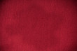 Closeup of red fabric textile material as texture or background - 60043575