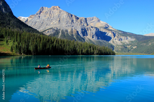 Foto op Canvas Canada Emerald Lake, Yoho National Park, British Columbia, Canada