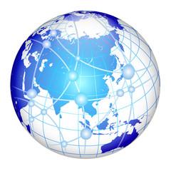 地球、地球儀 世界