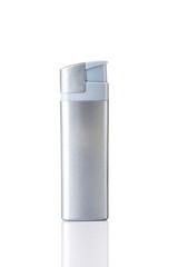 Silver lighter.