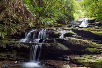 Leura cascades, Blue Mountains, Australia