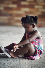 Rural african child