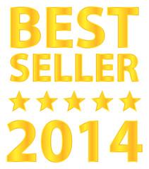 Best Seller Five Stars Golden Award 2014