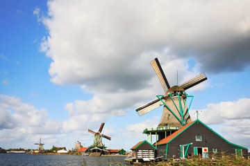 The rural museum - rural constructions and windmills