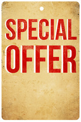 Sepcial Offer Tag