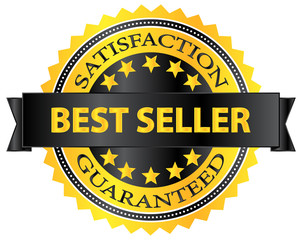Best Seller Five Stars Golden Badge Award