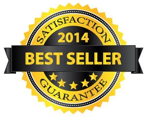Best Seller Five Stars Golden Badge Award 2014