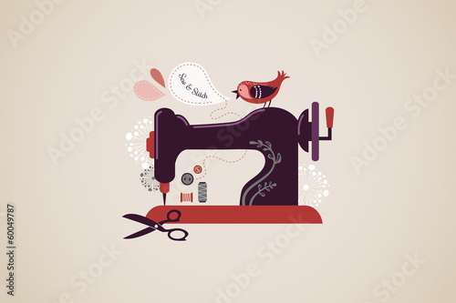 Vintage sewing machine - 60049787