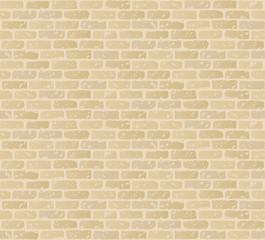 ベージュのレンガ壁