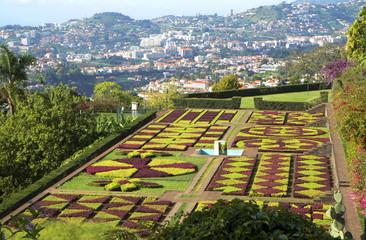Madeira island. Botanical garden.