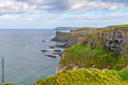 Beautiful coast in Ireland