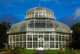 A glasshouse of The National Botanic Gardens in Dublin, Ireland