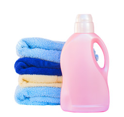 Towels with detergent
